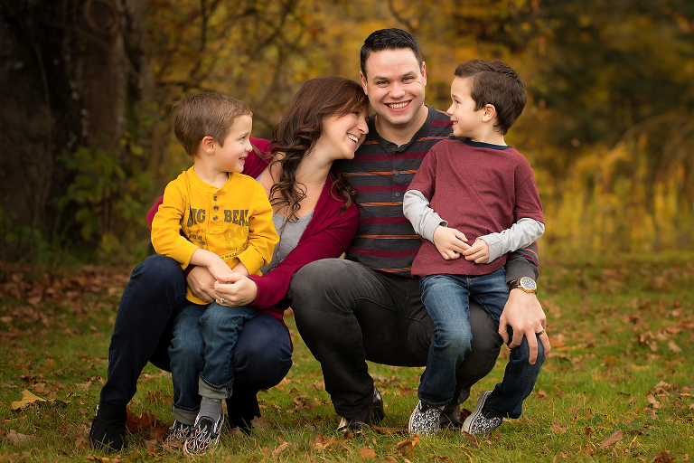 Family photography by Nicole Israel Photography Victoria BC